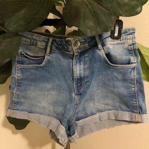 TRD Denim Zara light blue jean shorts Size 6